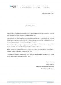 Uni-pak opinie referencje Amex